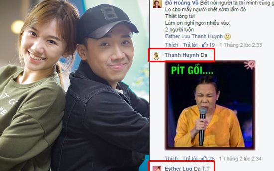 Vừa mở khóa facebook, Hari Won bị fan phát hiện bằng chứng yêu đương với Trấn Thành