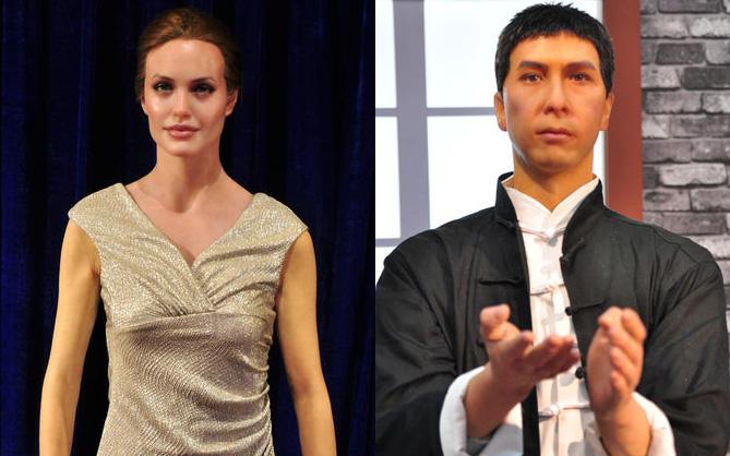 """Angelina Jolie, Chân Tử Đan sẽ """"khóc thét"""" khi thấy những bức tượng sáp này"""