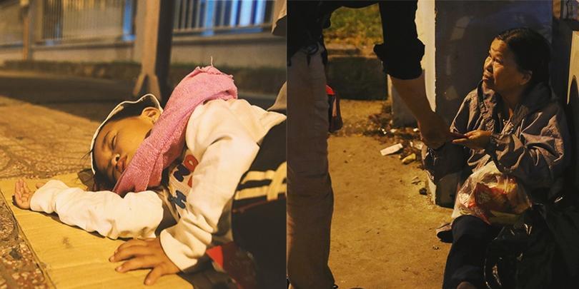Người vô gia cư và giấc ngủ không còn cô đơn bên phong bao lì xì của người Sài Gòn