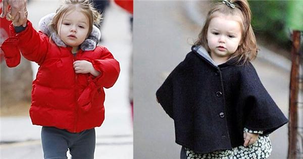 """Khám phá gu thời trang cực chất của """"công chúa"""" Harper Beckham"""