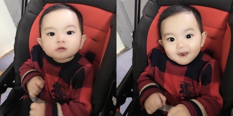"""""""Tan chảy"""" trước vẻ đáng yêu của con trai Khánh Thi – Phan Hiển"""