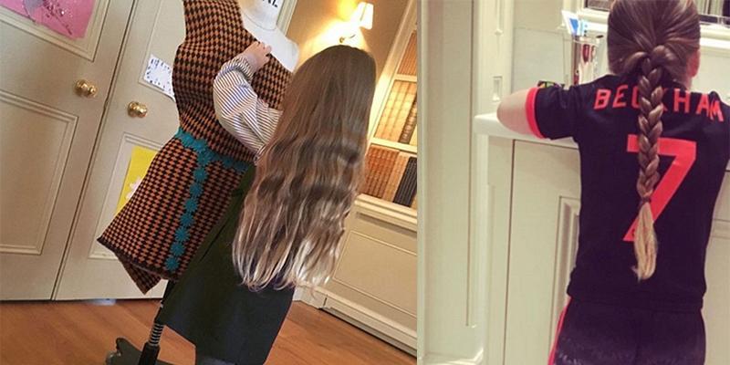 Harper Beckham trổ tài thiết kế thời trang giống mẹ