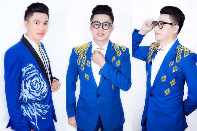NTK Tommy Nguyễn phong cách với vest nam màu xanh navy
