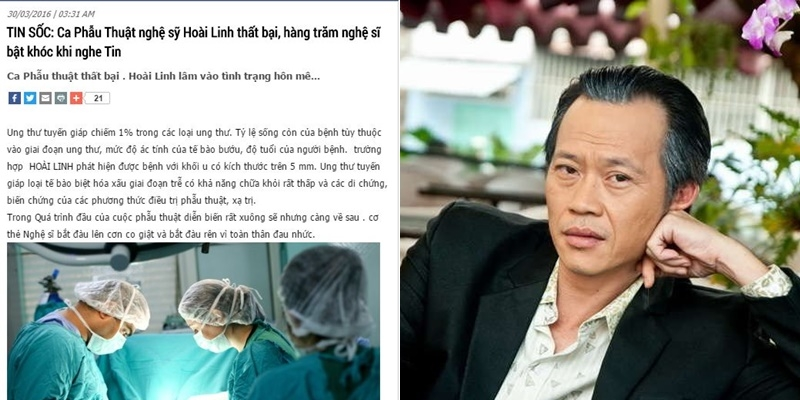 Thực hư tin đồn NSƯT Hoài Linh rơi vào hôn mê sau ca phẫu thuật?
