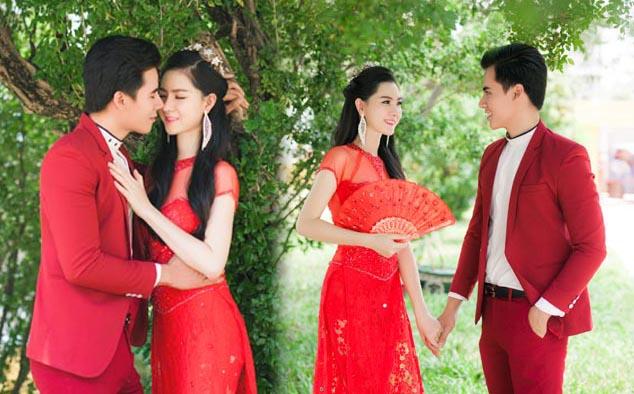 Hồ Văn Phúc cùng Victoria Nguyễn ton-sur-ton, đồng điệu và gắn kết