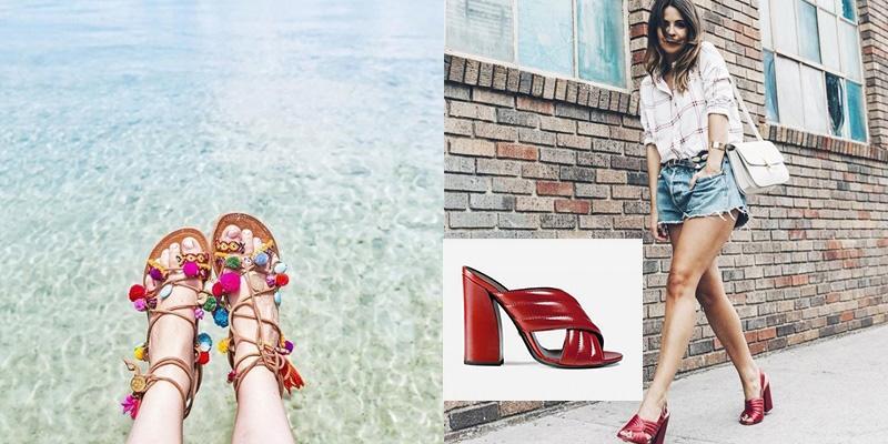 5 kiểu sandal sẽ chiếm thế thượng phong trong mùa hè năm nay