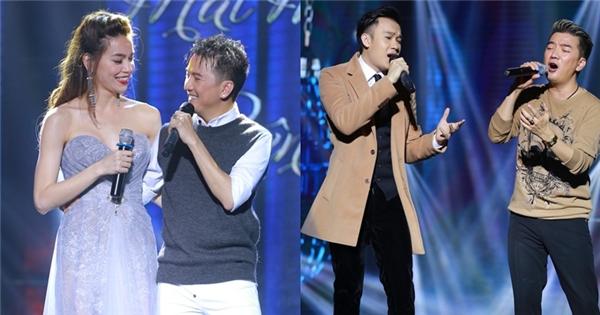 """Mr. Đàm """"tăng nhiệt"""" sân khấu Vinh cùng Hà Hồ và Dương Triệu Vũ"""