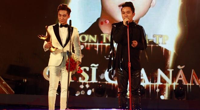 Sơn Tùng M-TP thắng giải Cống hiến Ca sĩ của năm