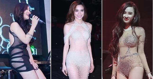 """Những lần """"lao đao"""" của sao Việt vì trang phục phản cảm"""