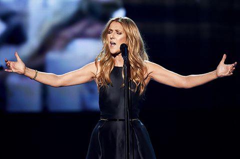 Celine Dion lần đầu lên trên truyền hình sau khi chồng mất