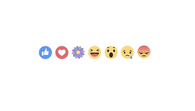 """Facebook có thêm biểu tượng cảm xúc """"Bông hoa"""""""