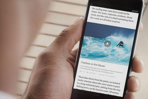 Facebook thay đổi cách đọc báo