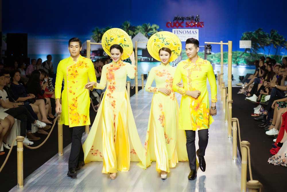 Nổi bật với BST Áo dài cưới mới của NTK Tommy Nguyễn