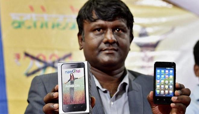 """Ấn Độ lại có smartphone """"rẻ nhất thế giới"""" giá gần 2 USD"""