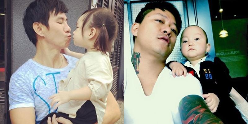 """Loạt ảnh """"cha nào con nấy"""" cực đáng yêu của sao Việt"""