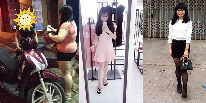 """Nữ sinh hóa """"thiên nga"""" sau khi giảm hơn 40kg trong vòng 8 tháng"""