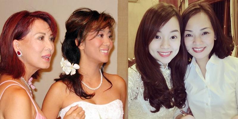 Bất ngờ trước nhan sắc trẻ trung như chị em của các bà mẹ mỹ nhân Việt