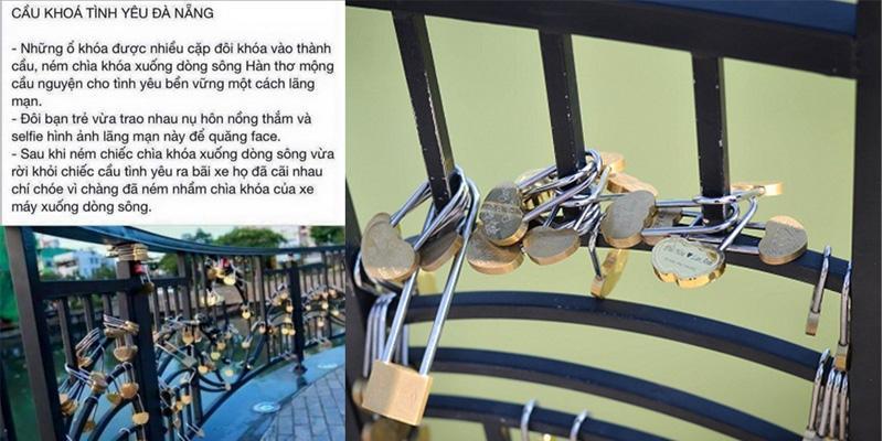 Ném nhầm chìa khóa xe ở cầu tình yêu và... cái kết đắng lòng