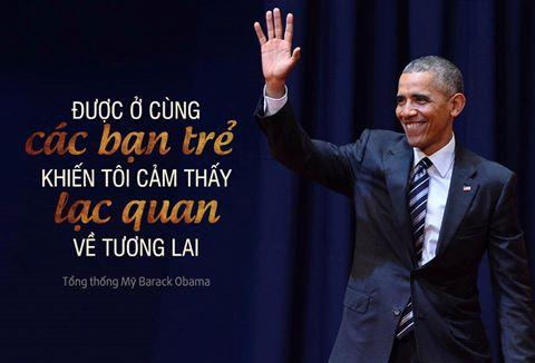 Thông điệp Tổng thống Obama muốn gửi thế hệ trẻ Việt Nam