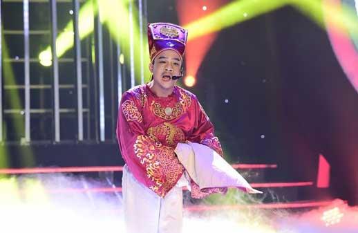 Phiên bản trẻ Quang Thắng khiến Hoài Linh cười ngặt nghẽo