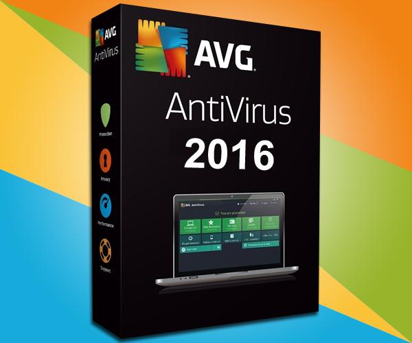 Bản quyền một năm phần mềm diệt virus danh tiếng AVG Antivirus 2016