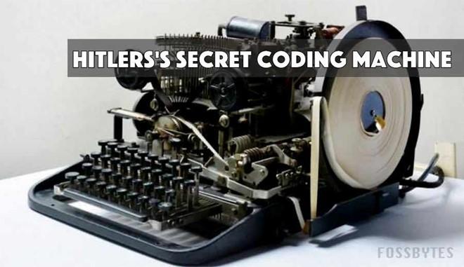 Máy mã hoá của trùm phát xít Hitler có giá 14 USD trên eBay