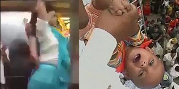 Kinh hoàng xem trẻ sơ sinh bị tung hứng như búp bê trong nghi lễ