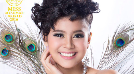 Người đẹp tuổi teen đăng quang Hoa hậu Myanmar