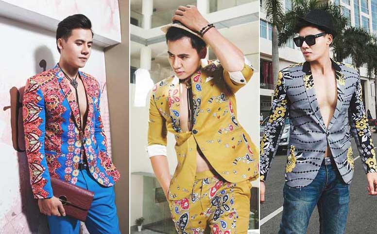 Mỹ nam Hồ Văn Phúc đa phong cách với BST vest Tommy Nguyễn