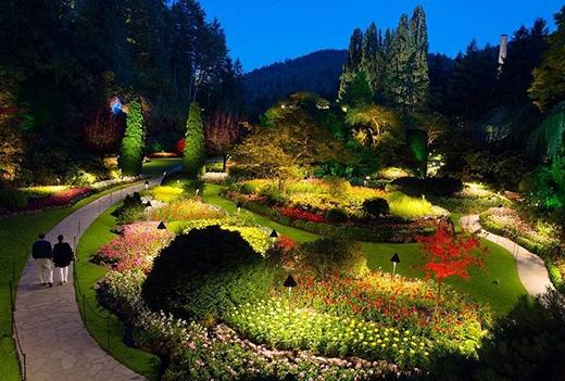 Choáng ngợp trước khung cảnh của những khu vườn đẹp nhất thế giới