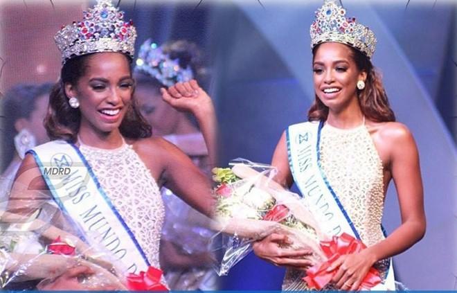 Chân dài cao 1,81 m đăng quang Hoa hậu Thế giới Dominica