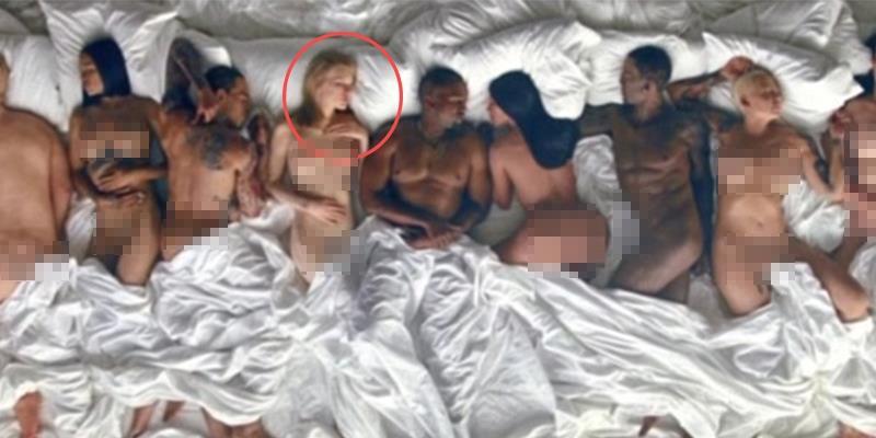 """Taylor Swift """"trần như nhộng lên giường"""" với Kayne West trong MV mới?"""