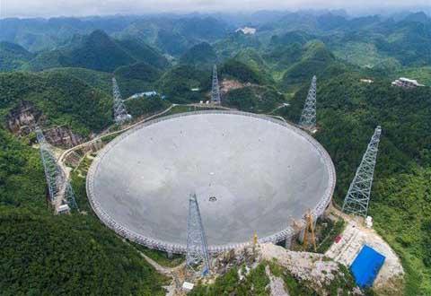 Trung Quốc xây kính thiên văn để tìm người ngoài hành tinh
