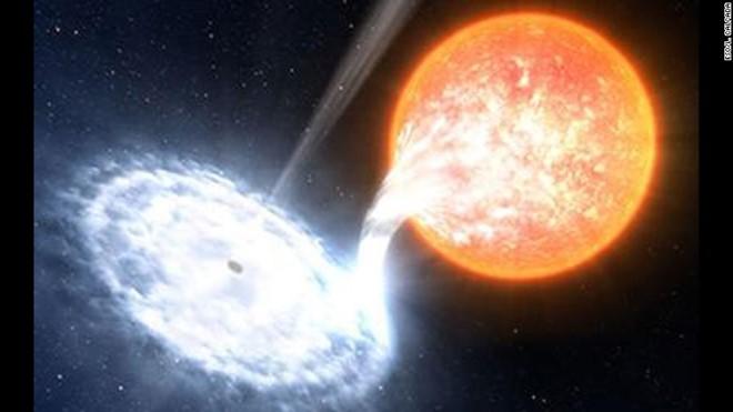 Lần đầu tiên con người theo dõi hố đen nuốt ngôi sao