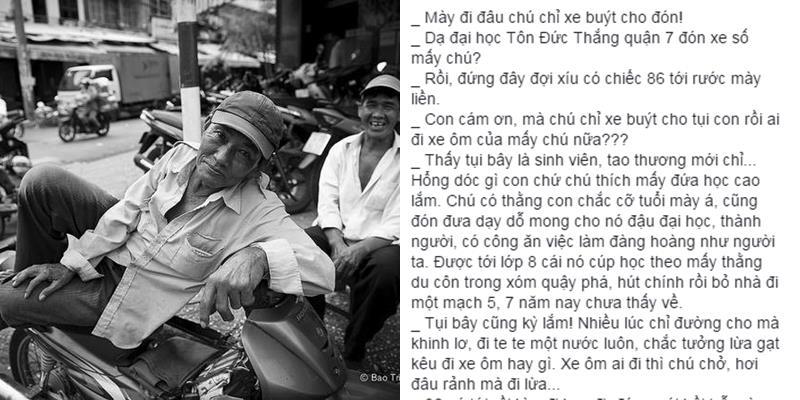 Câu chuyện về chú xe ôm và món đặc sản của người Sài Gòn