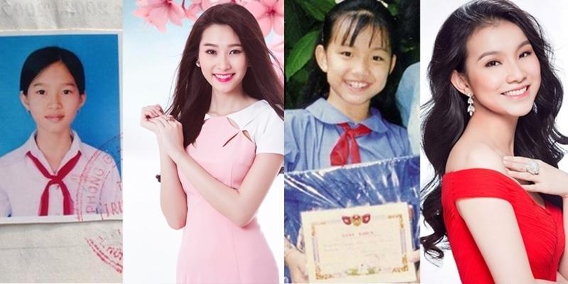 """Ngắm hình ảnh đẹp từ trong """"trứng nước"""" của dàn hoa hậu, á hậu Việt"""