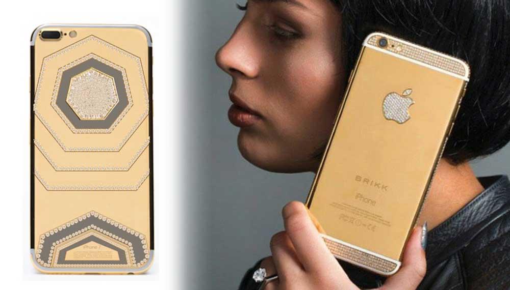 Chiêm ngưỡng iPhone 7 nạm kim cương siêu sang chảnh giá hơn 28 tỉ đồng