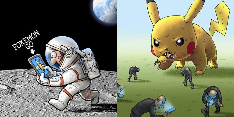 Bộ ảnh cho thấy thế giới đã trở nên điên loạn vì Pokemon
