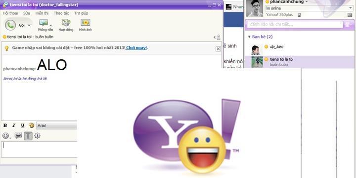 Người Việt vẫn dùng Yahoo Messenger như chưa từng khai tử
