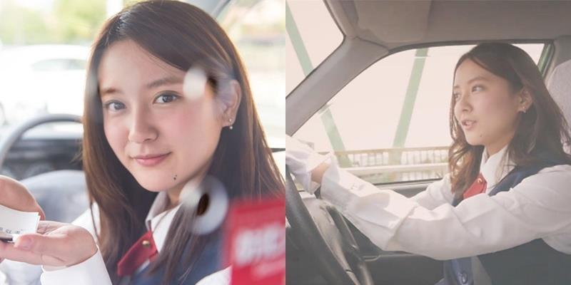 """Vẻ đẹp trong trẻo của """"cô lái taxi"""" khiến ai nhìn cũng ngẩn ngơ"""