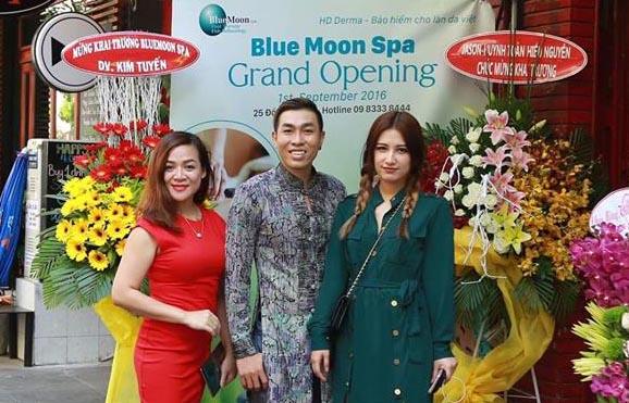 Hồ Minh Tài khai trương Blue Moon Spa - Trung tâm làm đẹp và chăm sóc da