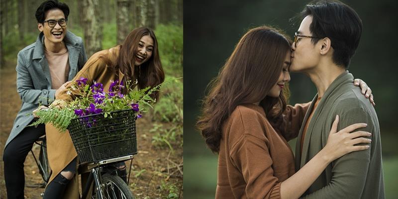 Bắt gặp Thanh Hằng tình tứ ôm hôn Hà Anh Tuấn trong rừng thông