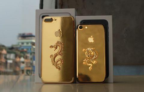 iPhone 7 Plus rồng vàng giá 90 triệu tại Việt Nam