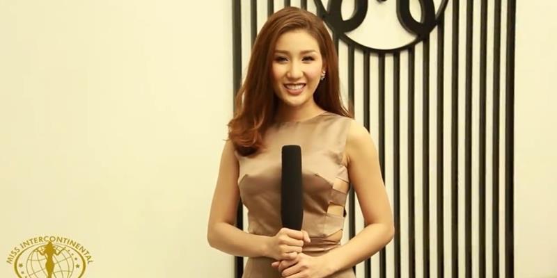 """Sững sờ với clip nói tiếng Anh """"không ai hiểu"""" của Á hậu Bảo Như"""