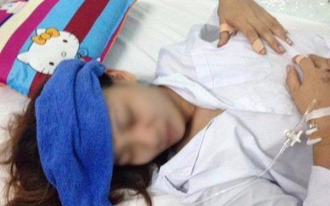 Cha lên Facebook cầu cứu cho con gái bị nhà chồng bạo hành