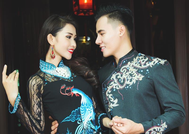 Hồ Văn Phúc sánh đôi cùng Chi Nguyễn trình diễn BST mới của NTK Tommy Nguyễn