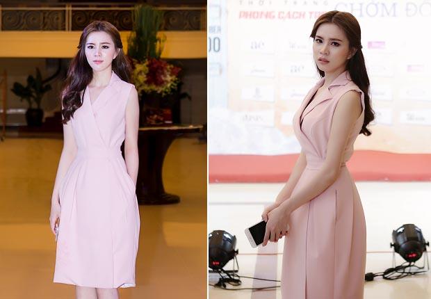 NTK Luxy Nguyen đẹp ngọt ngào khi đi sự kiện