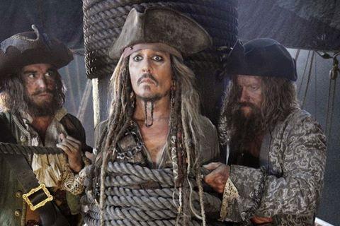 """Johnny Depp vắng mặt trong trailer """"Cướp biển Caribe 5"""""""