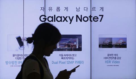 Tại sao Samsung bỏ rơi Note 7?