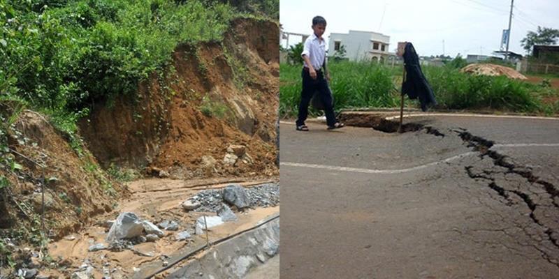Quảng Nam liên tục gánh chịu 2 trận động đất trên 3 độ Richter